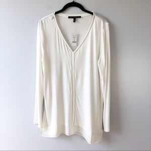 New White House Black Market Pullover Top